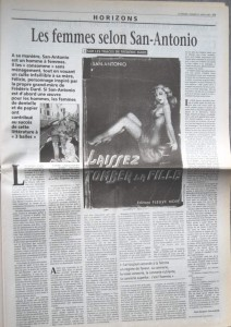 Le Monde 21 avril 2001 article