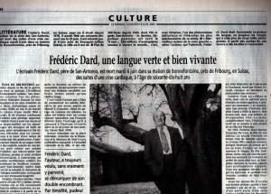 Le Monde n°17222 article
