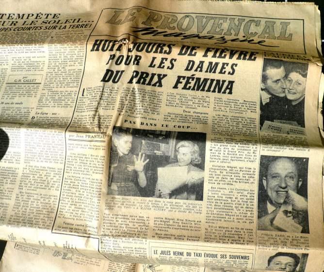 Le Provençal 17 nov 1957