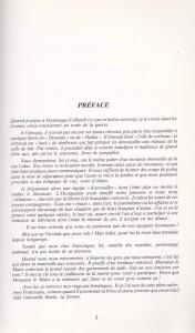 Préface F. Dard  Entretien avec Francisque Collomb