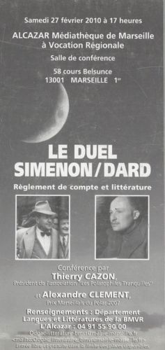 invitation Duel Dard-Siménon