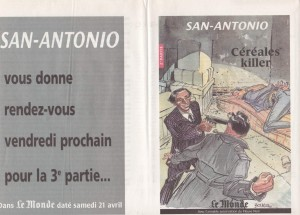 supplement le Monde 14 avril 2001