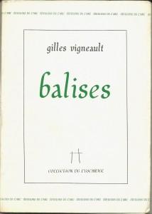 Balises gilles Vigneault