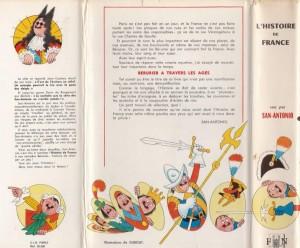 L' Histoire de France jaquette Partie 2