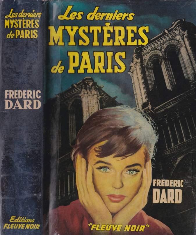 Les derniers mystères de Paris Jaquette face avant