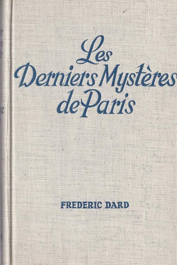 Les derniers mystères de Paris