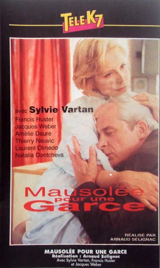 VHS Mausolée pour une garce - face avant