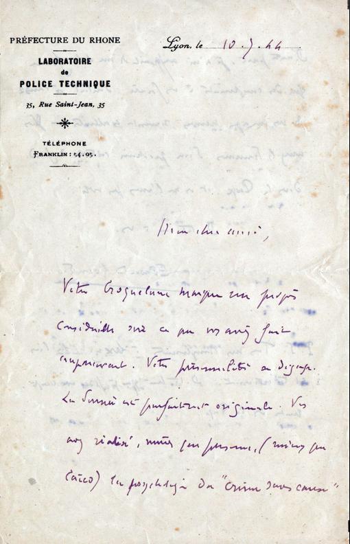 lettre 10 juillet 1944