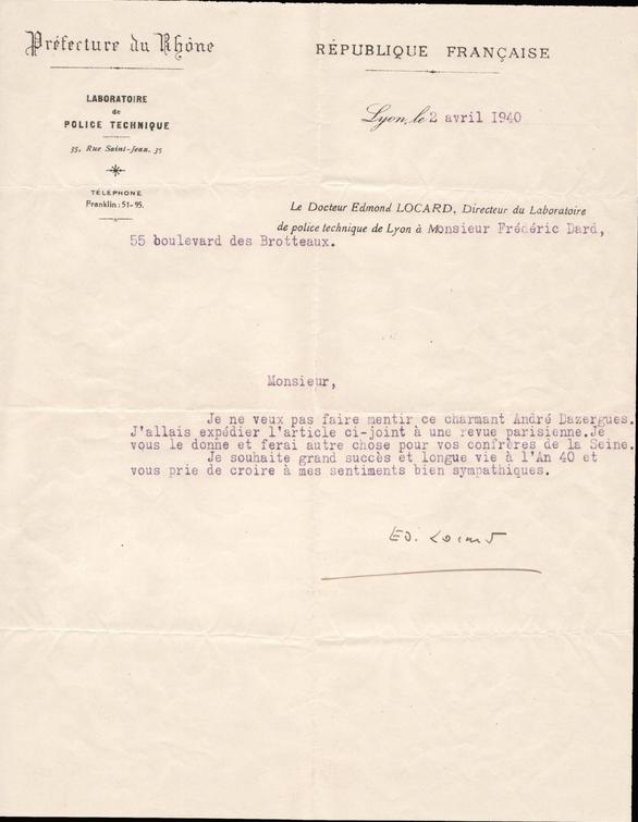 lettre 2 avril 1940