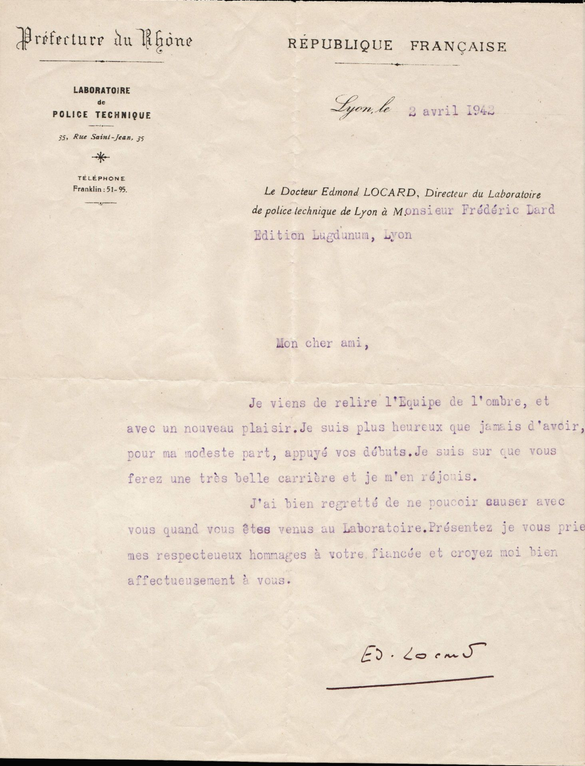 lettre 2 avril 1942