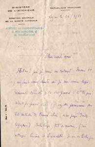 lettre 24 mars 1951