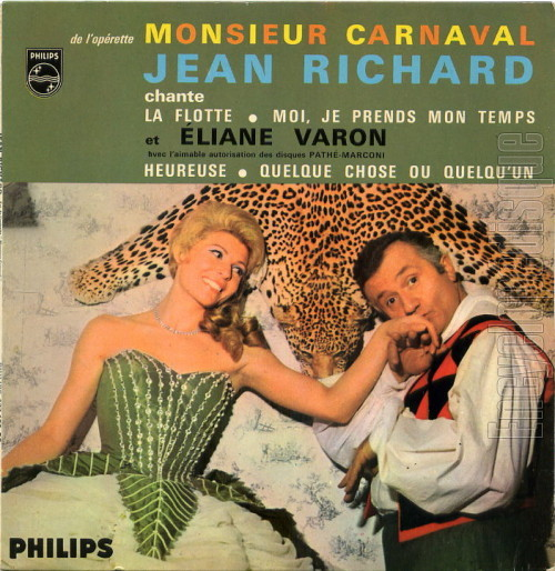 45 tours 437.192 Monsieur Carnaval