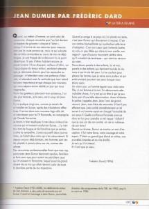 Article La TSR a 50 ans sur Dumur