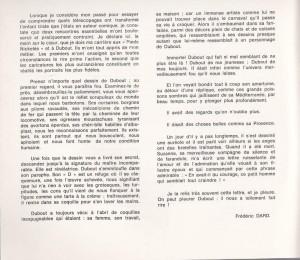 Dubout Musée Fabre texte FD
