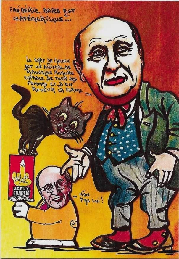 Le chat de Geluck et Charlie