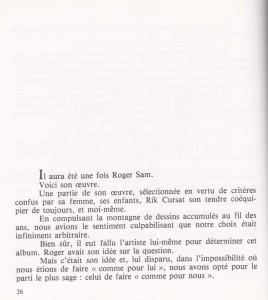 Il était une fois Roger Sam page 26