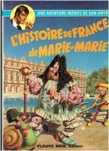 L'histoire de France de Marie-Marie