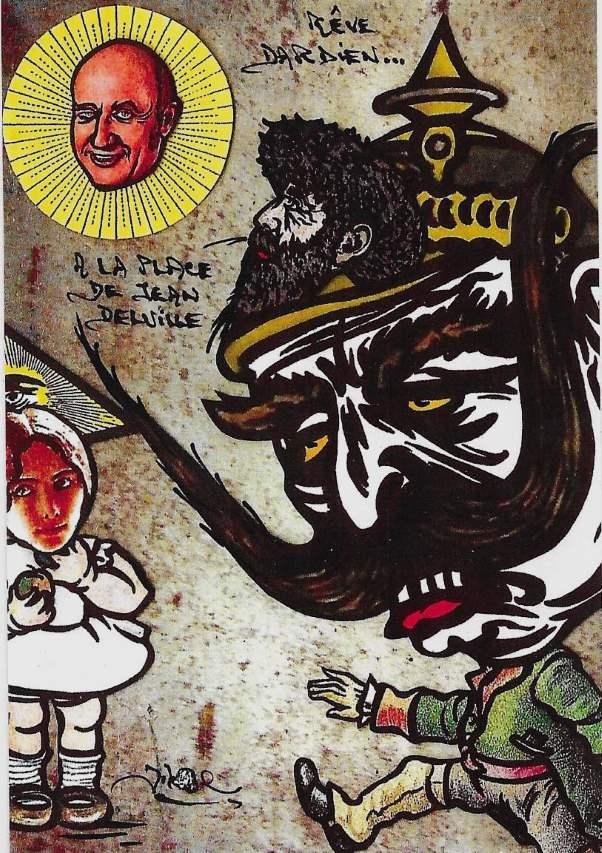 Rêve Dardien avecPeladan et Cléo de Mérode