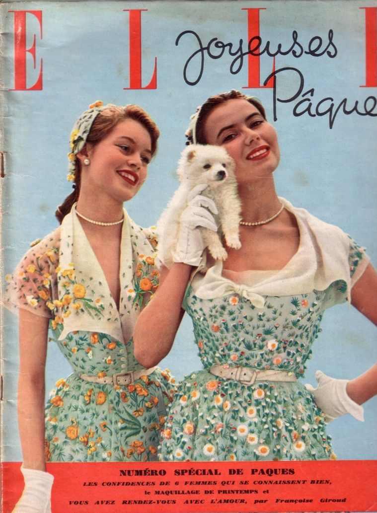 Elle mars 1952