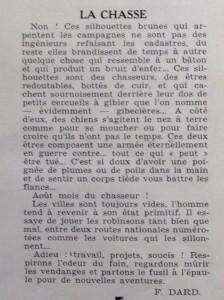 Le Mois à Lyon août 1939 texte Dard La Chasse
