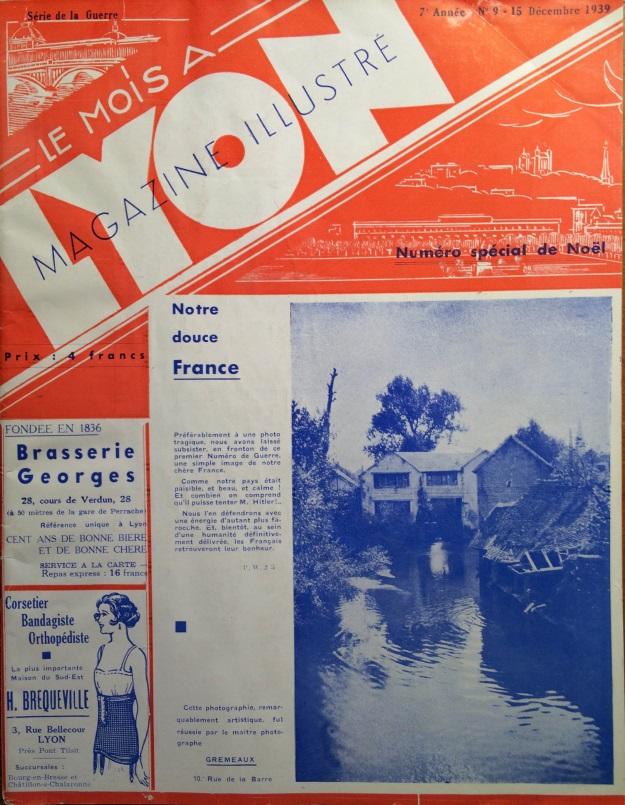 Le Mois à Lyon décembre 1939