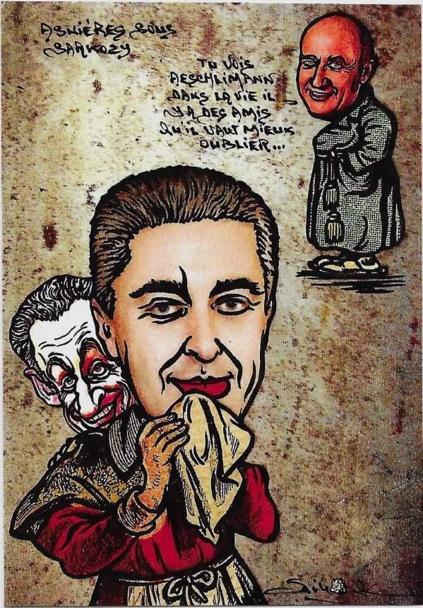 Asnières sous Sarkozy et Aeschlimann