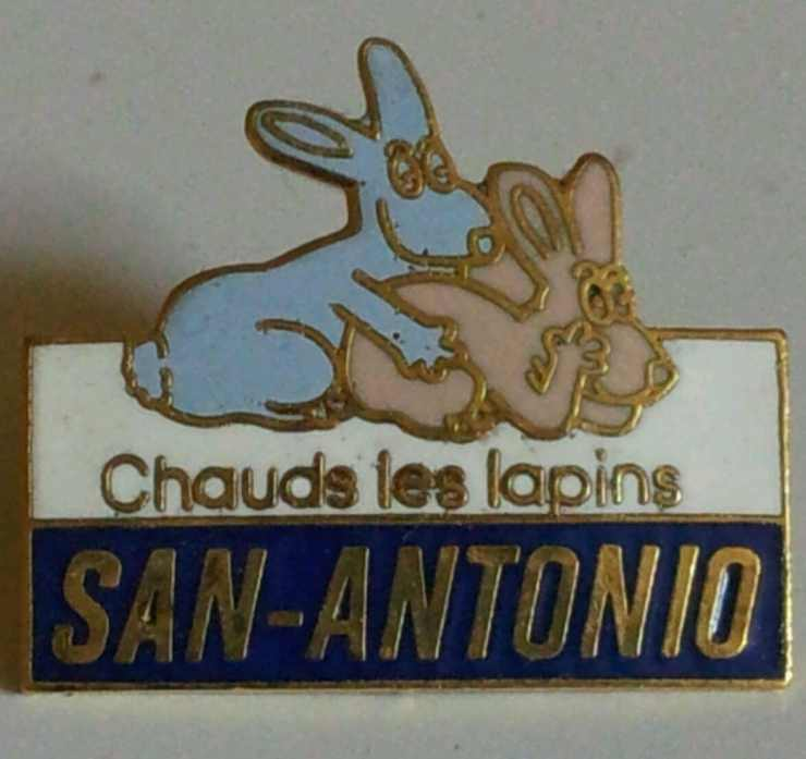 Pin's Chauds les lapins
