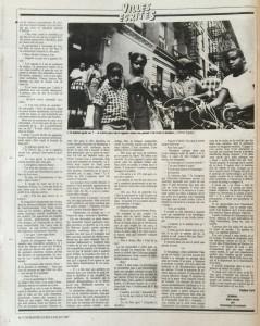 L'Humanité n°13335 Nuit de Harlem suite et fin