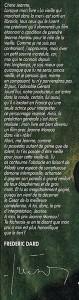 Texte Frédéric Dard