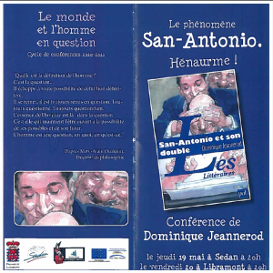 Conférence Jeannerod 19 et 20 mai 2011