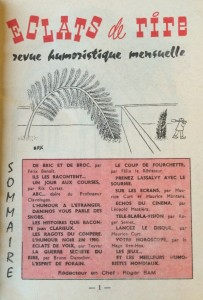 Eclats re rire n°14 sommaire