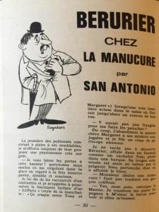Eclats de rire n°22 texte San-Antonio