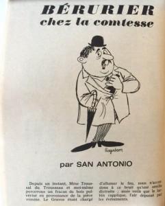 Eclats de rire n°23 texte San-Antonio