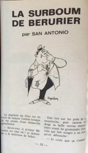 Eclats de rire n°24 texte San-Antonio