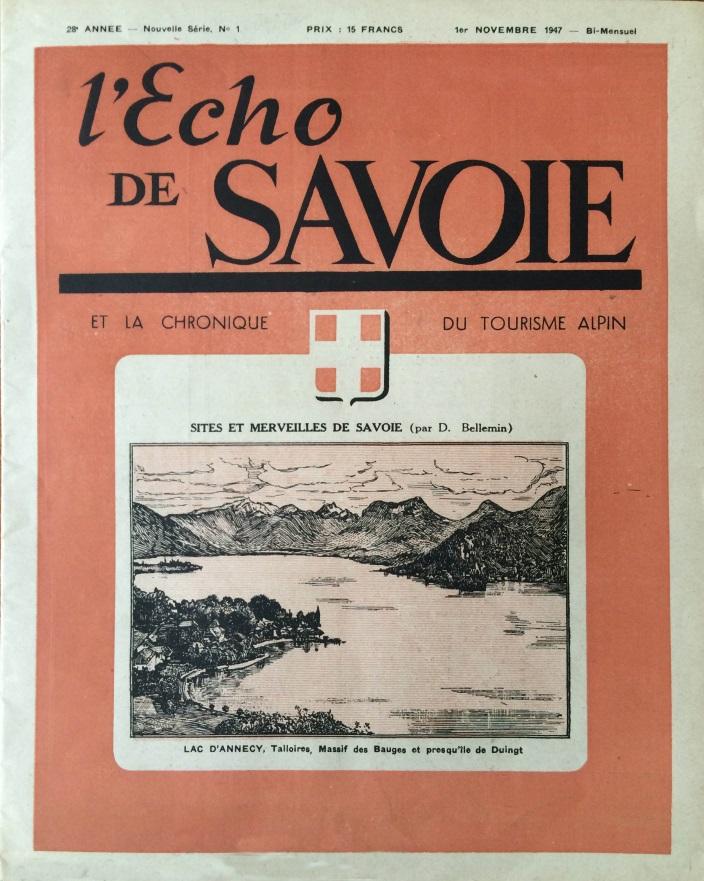 L'écho de Savoie n°1