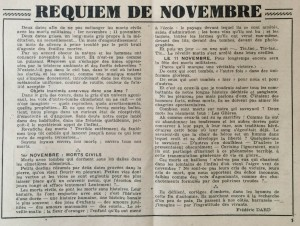 L'écho de Savoie n°2 editorial