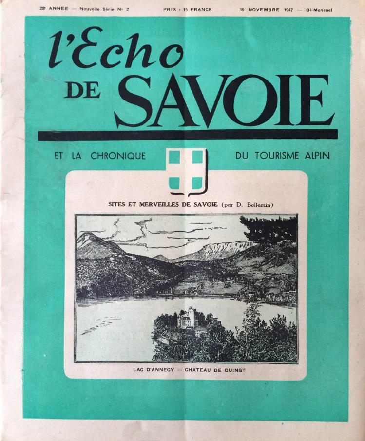 L'écho de Savoie n°2