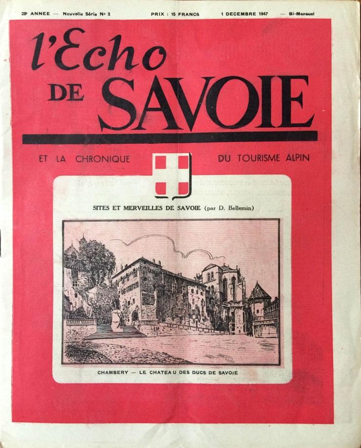L'écho de Savoie n°3