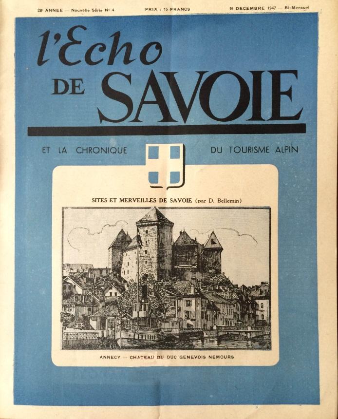 L'écho de Savoie n°4