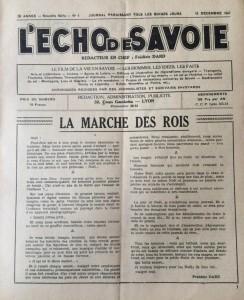 L'écho de Savoie n°4editorial.J