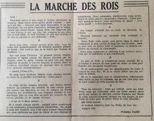 L'écho de Savoie n°4 editorial