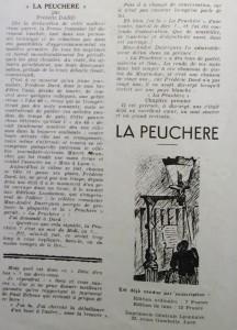 L'An 40 n°8, page 2 critique de La Peuchère