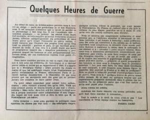 L'Echo de savoie n° 7 editorial