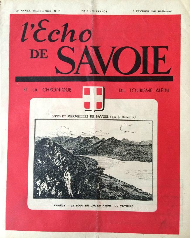 L'Echo de Savoie n° 7