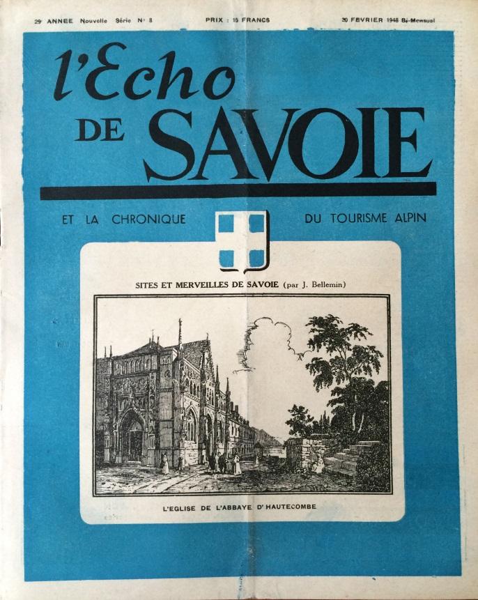 L'Echo de Savoie n° 8