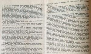 L'Echo de savoie n° 8 editorial 2 haut