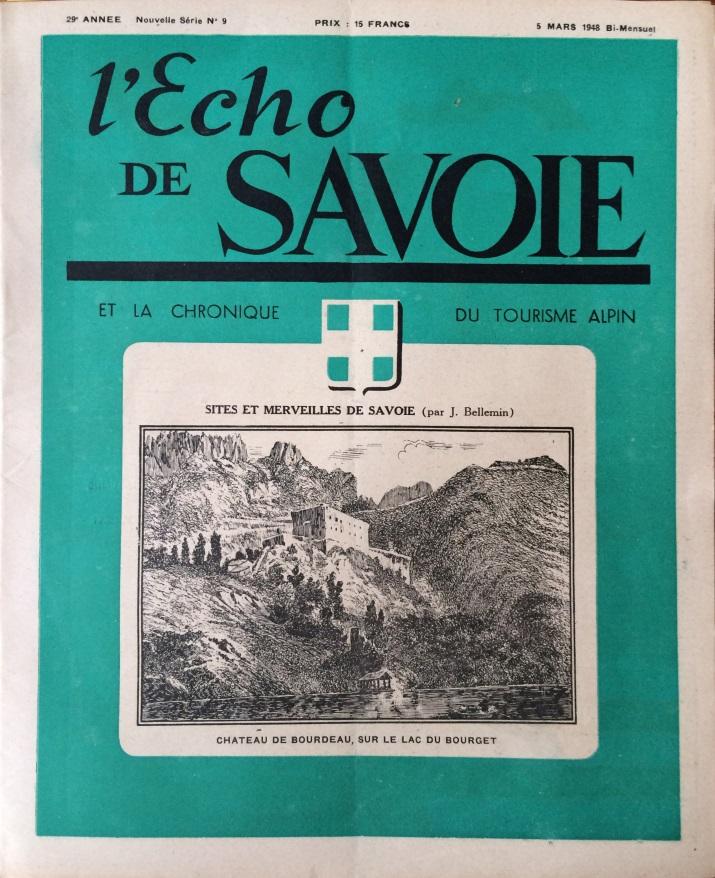 L'Echo de Savoie n° 9