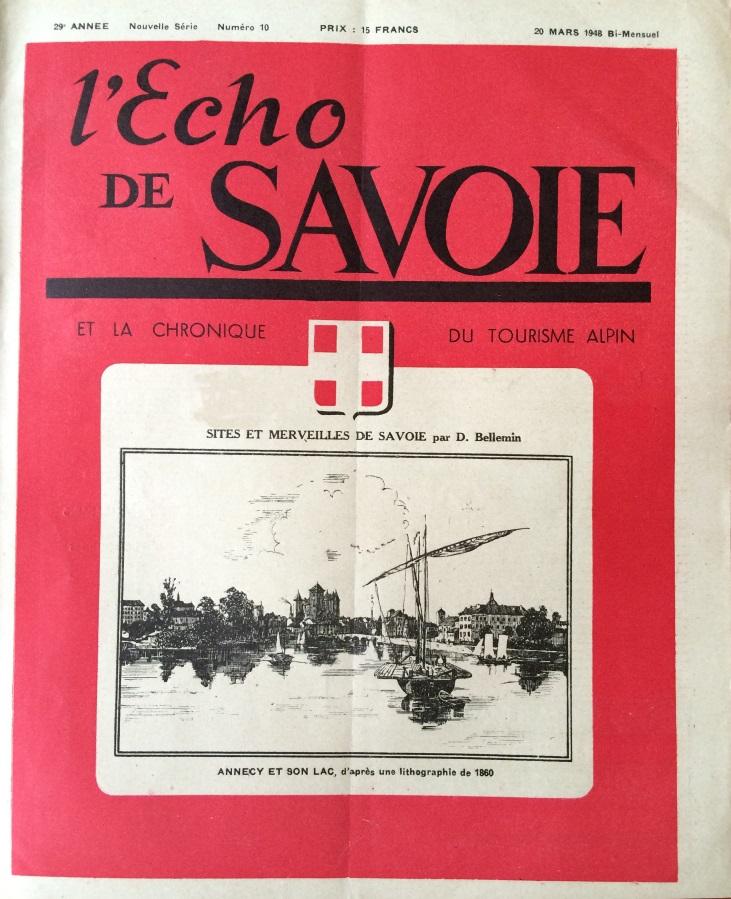 L'Echo de Savoie n°10