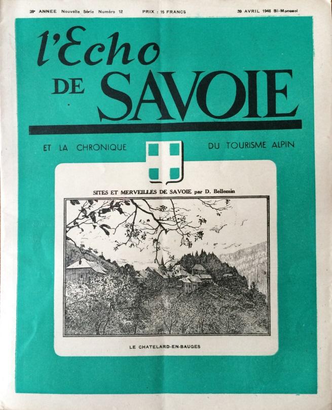 L'Echo de Savoie n°12