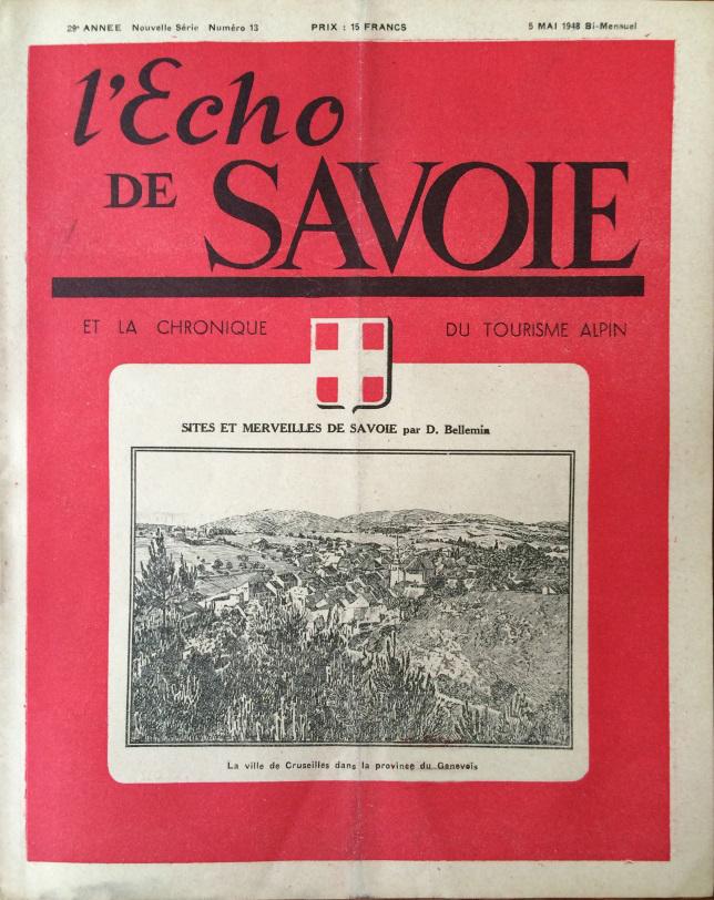 L'Echo de Savoie n°13